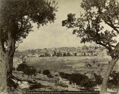 Вид на Иерусалим с Елеонской (Масличной) горы