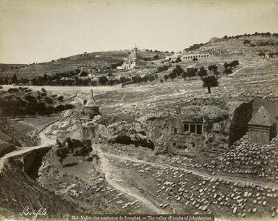 Долина Иосафата, Иерусалим